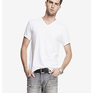 Men's XL Tall V-neck Tee Shirt